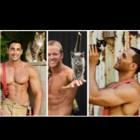 Горещо! Австралийските пожарникари са още по-неустоими в новия календар за 2019