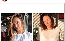 """В профила си австралийската актриса Селест Барбър прави """"реалистични"""" имитации на безупречните кадри на холивудски и онлайн знаменитости."""