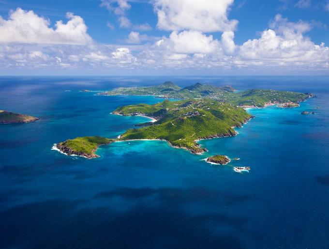 Сен Бартелми е малък, но много красив остров