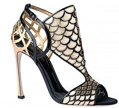 Обувки Sergio Rossi, цена при зашпитване в магазина