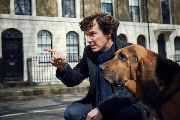 """Кадър от новия сезон на сериала """"Шерлок"""""""