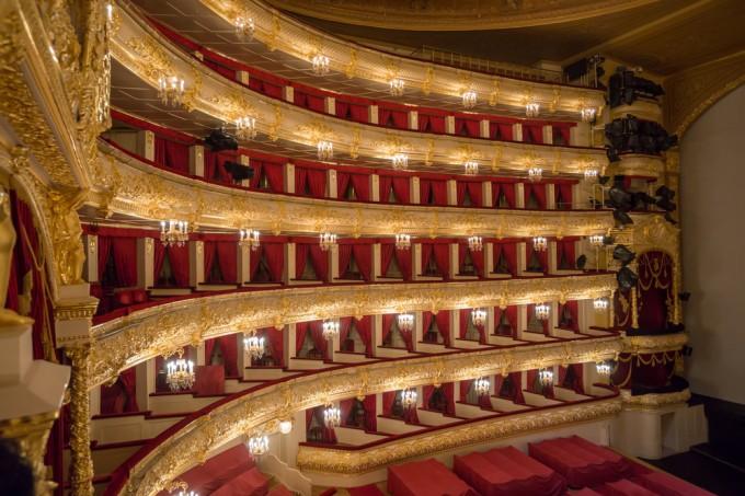 Google пуска виртуален тур в Болшой театър