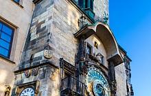 Астрономическият часовник Орлой в Прага.