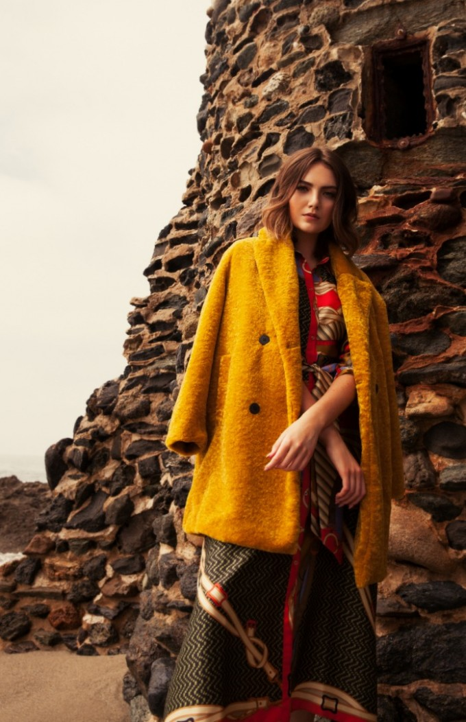 Палто и рокля ZARA