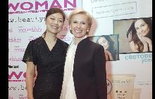 Жасмин Грош – международен тренер на професионалната козметична марка Dr. Shrammek и Екатерина Тодорова - управител на Динамика 2000, официален вносител на марката, за България.