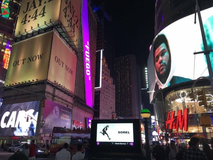 Българката Илиана Чернакова краси билбордите в Манхатън