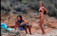 Хайди Клум и Вито Шнабел в Сардиния