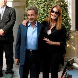 Карла Бруни и Никола Саркози