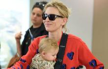 Кейт Бланшет с малката Едит
