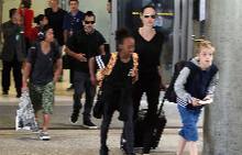 Анджелина и децата й