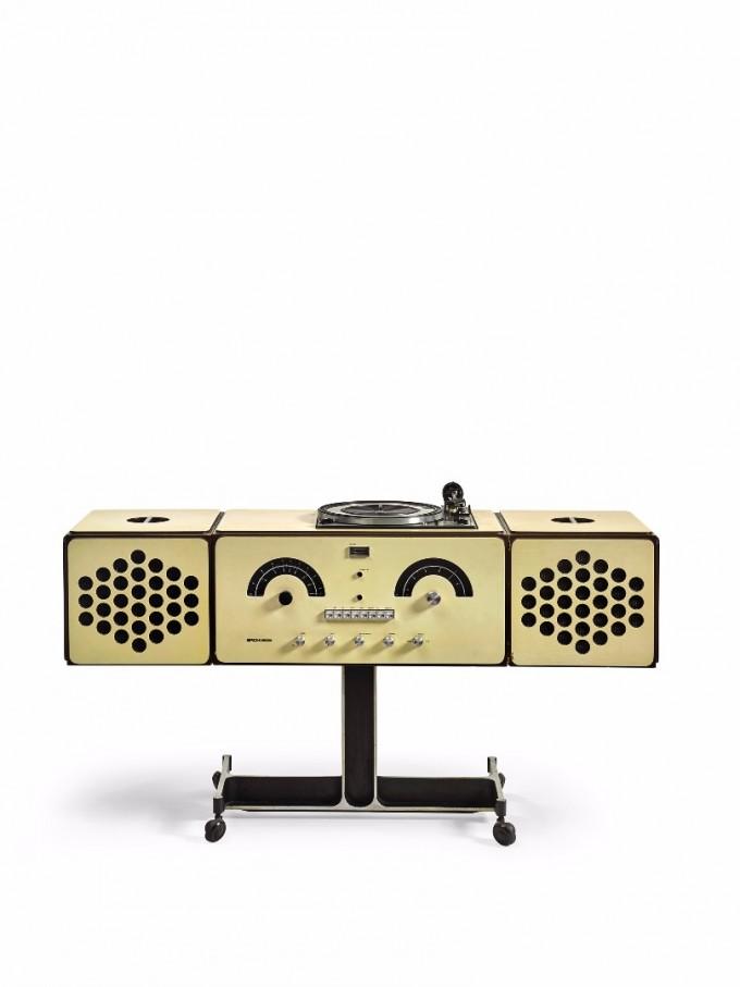 Pier Giacomo and Achille Castiglioni Brionvega Radiophonograph, model no RR 126, 1965