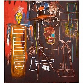 Jean-Michel Basquiat Air Power, 1984