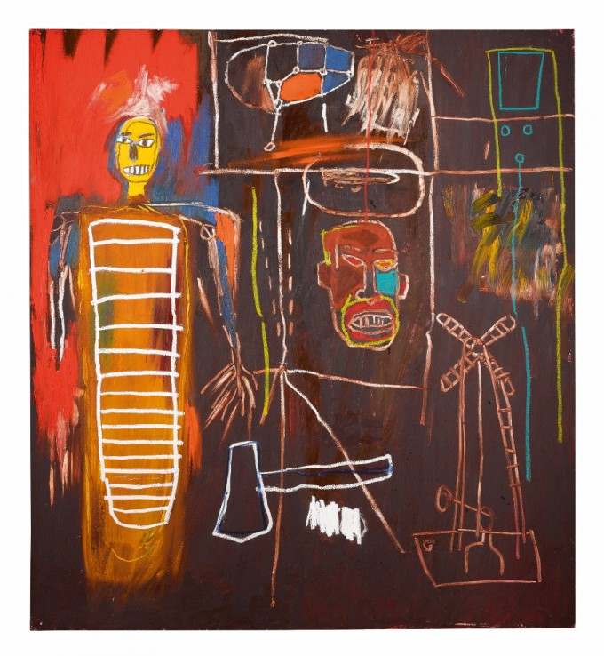 Jean-Michel Basquiat Air Power, 1984