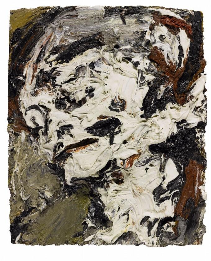 Frank Auerbach Head of Gerda Boehm, 1965
