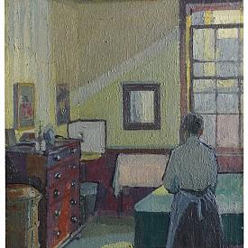 Harold Gilman Interior (Mrs Mounter), 1917