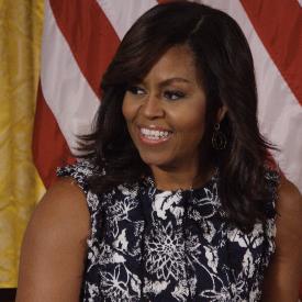 Днес ни вдъхнови Мишел Обама...