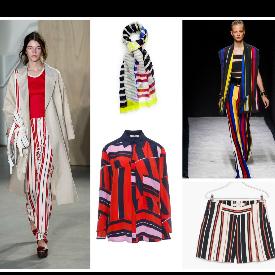 10 модни находки в цветни райета