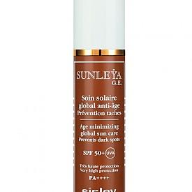 Sunleya G.E. SPF50+ на SISLEY е слънцезащита, която предотвратява появата на тъмни петна