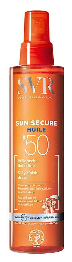 Слънцезащитно сухо олио Sun Secure SPF50 на SVR