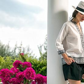 Моделите от еко коприна и памук на Etoile Coral