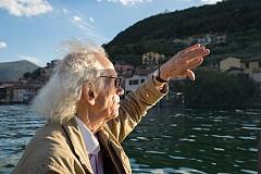 Кристо Явашев на езерото исео, септември 2015 г.