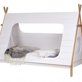 Легло, вдъхновено от типи палатките, от Idyll Home (www.idyllhome.co.uk)