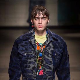 Ленън Галахър дебютира като модел по време на London Fashion Week Men 2017