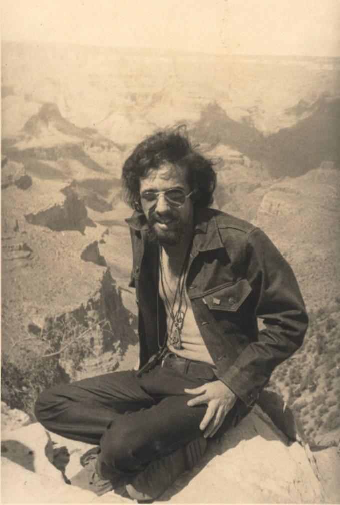Писателят в Аризона през 1971 г.