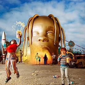 Заглавието на албума Astroworld на рапъра Травис Скот е вдъхновено от прочутия увеселителен парк Six Flags AstroWorld в Хюстън, който вече не съществува. Албумът има две версии – стандартната дневна и нощна, която излиза и на винил.