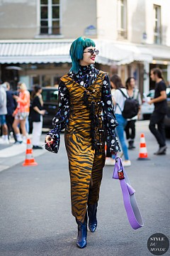 Street style вдъхновения с тигров принт