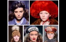 От модния подиум: Изобилие от шапки за сезон есен-зима 2017/2018