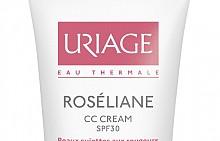 Хидратиращ защитен крем Roseliane CC SPF30 на Uriage
