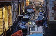 Пресъхналите канали на Венеция