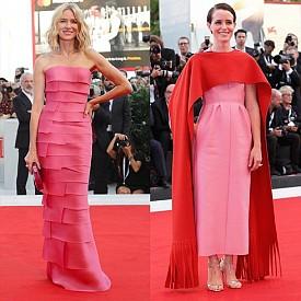 Червеният килим на Кинофестивала във Венеция