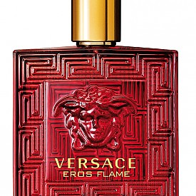 VERSACE Eros Flame е символ на любовта и страстта. Флаконът е впечатляващ – солиден и решен изцяло в червено, а уханието ще очарова мъжете (а и вас) със силен контраст между отделните нотки, които едновременно с това се допълват перфектно.