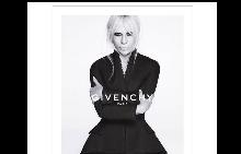 Първи кадър от кампанията на Givenchy с Донатела Версаче