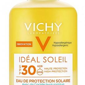 Слънцезащитната вода с хидратиращ ефект от серията Ideal Soleil на VICHY