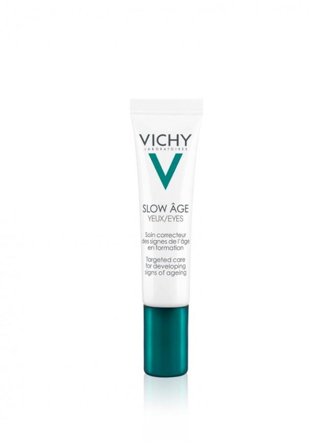 Slow Age на VICHY е крем за околоочен контур за коригиране...