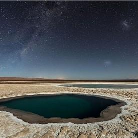 "Трето място, Природа - ""Lagunas Baltinache (Atacama Desert)"", Антофагаста, Чили"