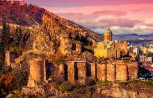 Крепостта Нарикала в Тбилиси датира от IV век