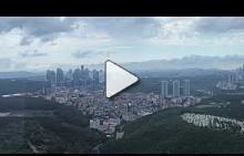 С хеликоптер над Истанбул