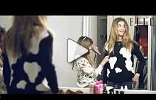 Видео бекстейдж от фотосесията с Ана Беатрис Барос за майския брой на ELLE България