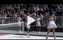Exclusive: Rafael Nadal x Tommy Hilfiger launch event in Bryant Park, New York, NY