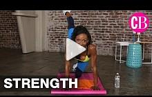 CosmoBody тренировка за крака в Дженифър Джонсън
