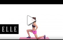 Full Body Workout with Kayla Itsines: Legs Circuit | ELLE