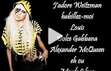 """""""Fashion"""", Lady Gaga"""