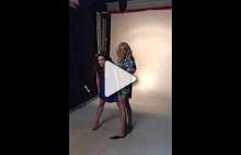 Backstage фотосесия на Симона Евгениева и Елена Ангелова