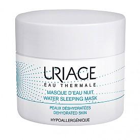 ХИДРАТИРАЙТЕ ПРЕЗ НОЩТА, за да помогнете на кожата на лицето да се справи със сухия въздух на закрито и студа на открито. Препоръчваме нощната термална маска за дехидратирана кожа на URIAGE. Новата лека и флуидна гел текстура осигурява мощна хидратация с 8-часово действие, изглажда и възстановява кожата, благодарение на хиалуронова киселина. Има приятен плодово-флорален аромат.  URIAGE Sleeping Mask, 50 мл, 24 лв.