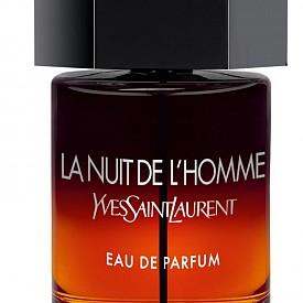 Ароматът на La Nuit De L'Homme на YSL е колкото близо, толкова и далеч от класическия парфюм. Разликата е, че познатият пикантен ориенталски акорд на кардамон, лавандула, зърна тонка и ветивер, е обогатен със сандалово дърво, пачули, градински чай и кожа.