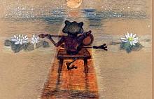 """Текстът и илюстрациите в книгата """"Жабчето Жо"""" са изцяло дело на талантливата българска писателка и художничка Нуша Роянова, автор на поредицата за кучето Джак и котето Ема. Книжката разказва историята на жабчето Жо, което наглед си има всичко – здраве, покрив над главата и приятели, но все нещо не му достига, за да бъде щастливо. То търси непрестанно НЕЩОТО, което отсъства в живота му – експериментира, проваля се, но не се отказва. Краят е колкото очакван, толкова и изненадващ, защото НЕЩОТО бива открито, но се оказва съвсем различно от очевидното."""